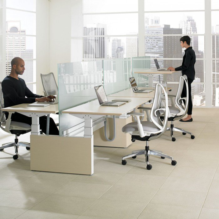 1-Mobilier de bureau-MBH-Tables ajustables-Teknion-HAB Height adjustable bench-Photo principale.jpg