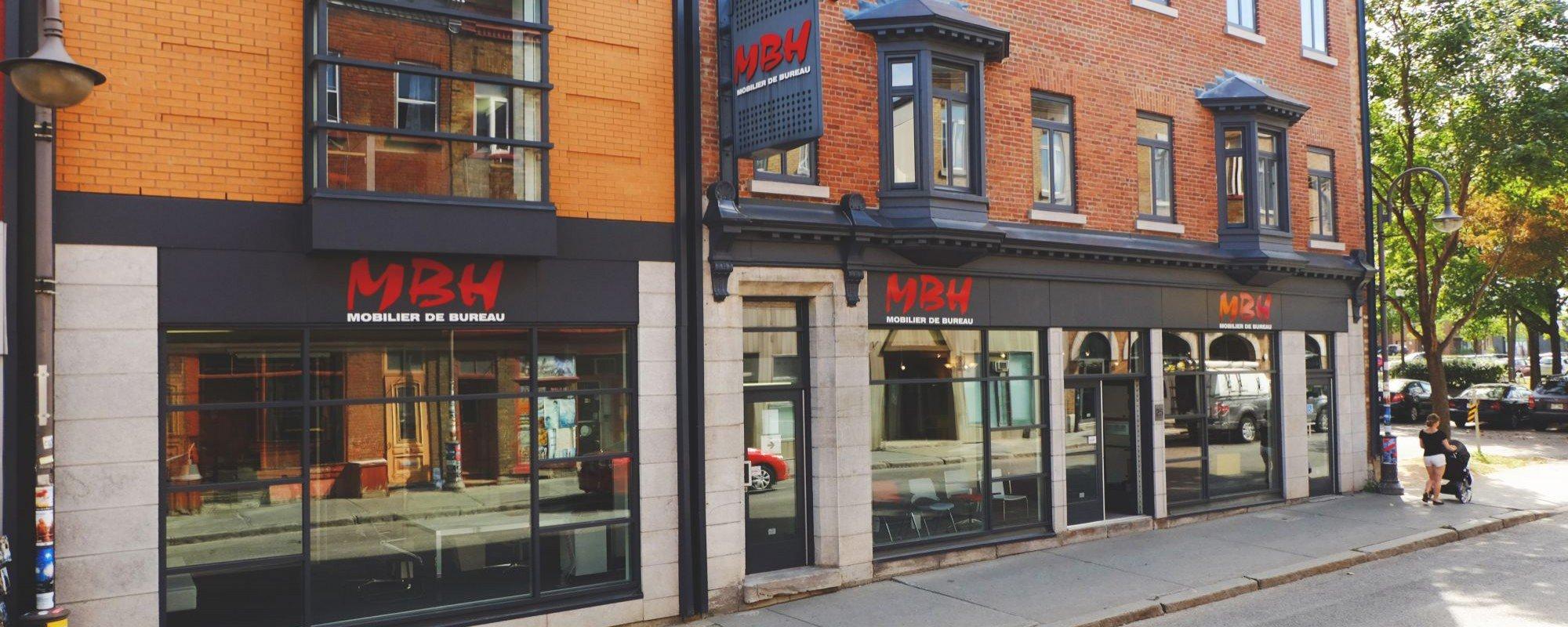 Les locaux rue Saint-Joseph à Québec
