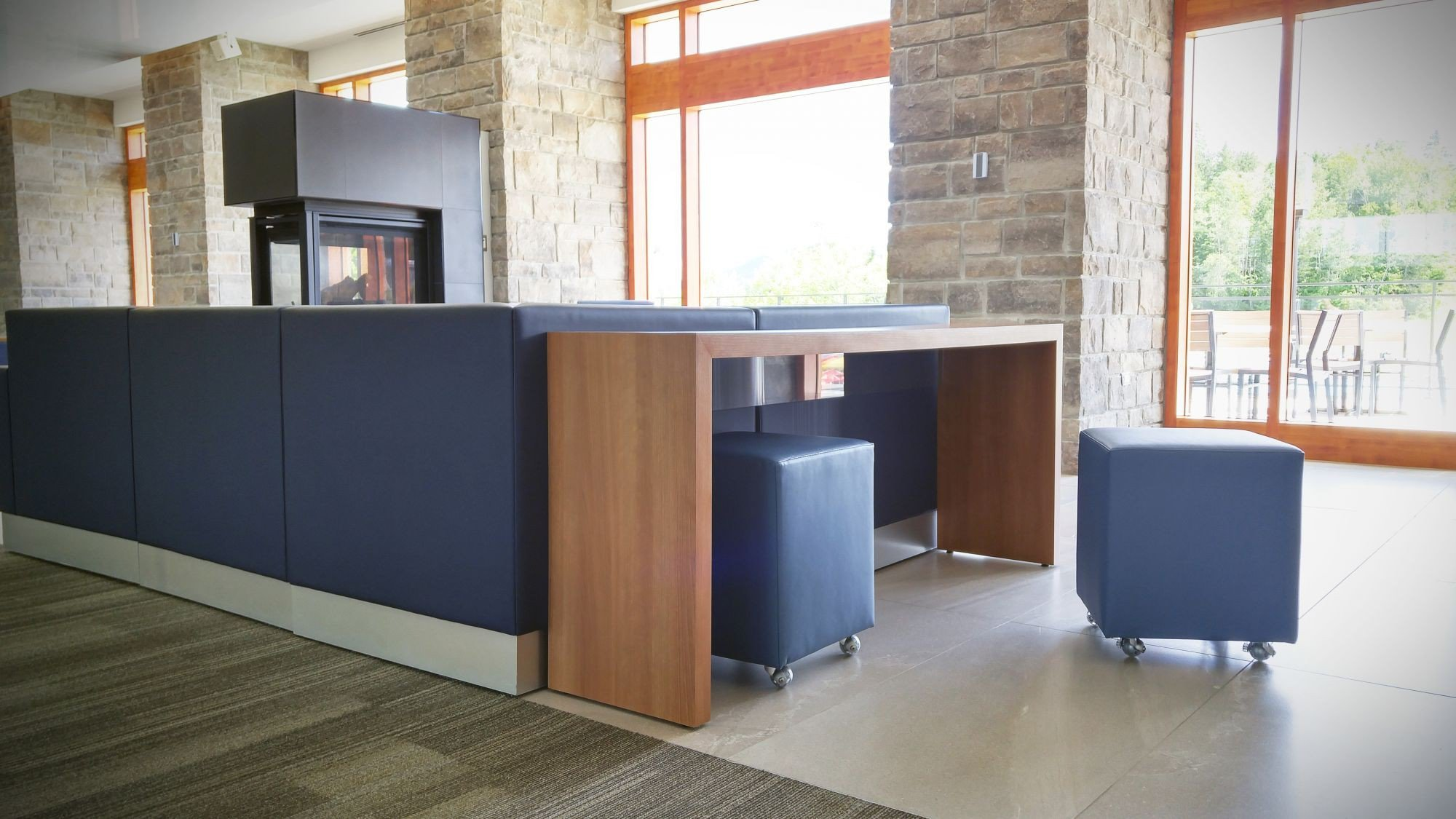 Meuble bureau design u lackovic